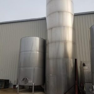 15500 Gallon Stainless Steel Insulated Tank