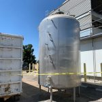 3000 Gallon Cherry-Burrell Aseptic Tank