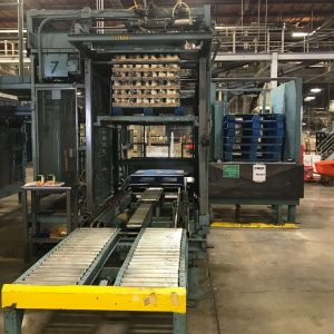 Von Gal High Level Palletizer