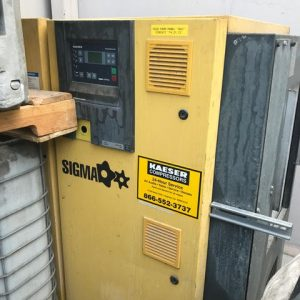 Kaeser Sigma Rotary Screw Compressor