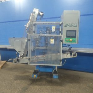 LAZAR 2-HEAD SERVO CAPPER
