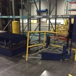 Lantech 2500 Automatic Rotary Pallet Wrapper