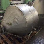 Stainless Steel Dry Ingredient Hopper
